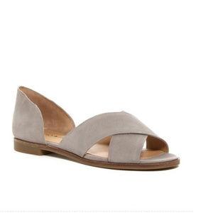 Lucky Brand Gallah Crisscross Flat Sandal Size 11